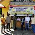 Babinsa Koramil 01/Bersama Bhabinkamtibmas, Kawal Pembagian, BLT DD.Desa Blang Jorong, Kecamatan Bandar,