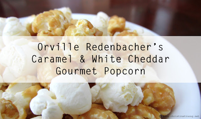 Orville Redenbacher's Caramel & White Cheddar Gourmet Popcorn Influenster Review