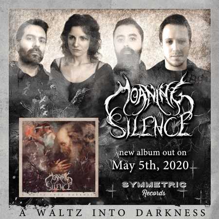"""MOANING SILENCE: Ακούστε το """"I Am The Sorrow"""" απο το επερχόμενο άλμπουμ """"A Waltz Into Darkness"""""""