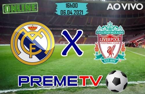 Real Madrid x Liverpool Ao Vivo