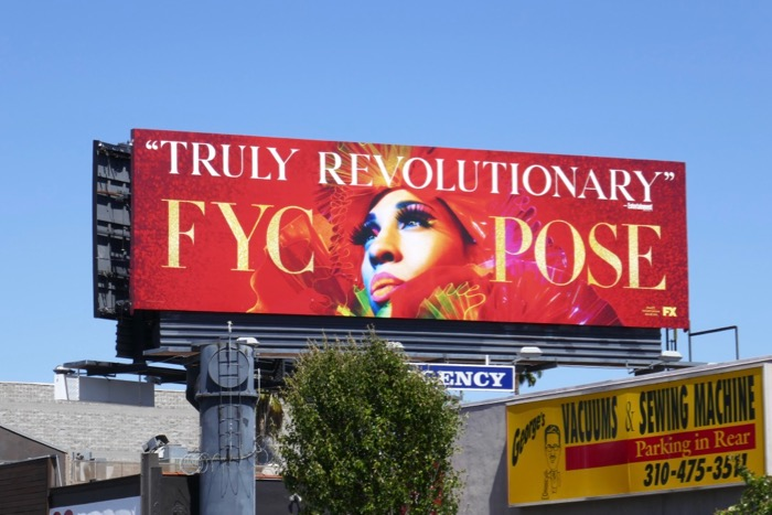 Pose season 1 Emmy consideration billboard