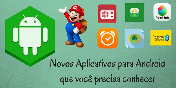 Infotec Blog, Aplicativos novos, grátis para Android
