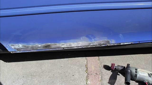 comment réparer de la rouille sur une voiture
