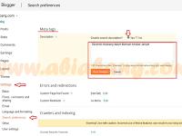 Meta Tags pada Blog dan Post