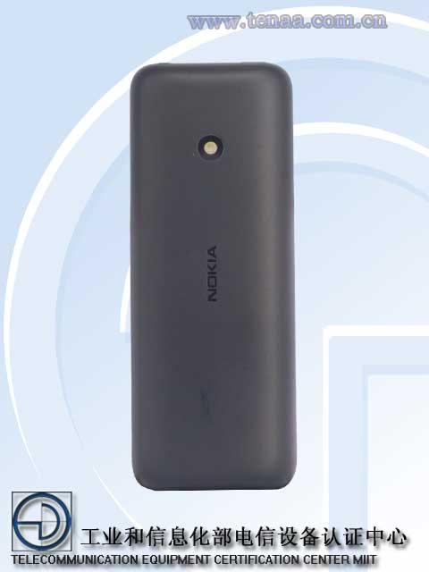 Nokia 125 Back TENAA