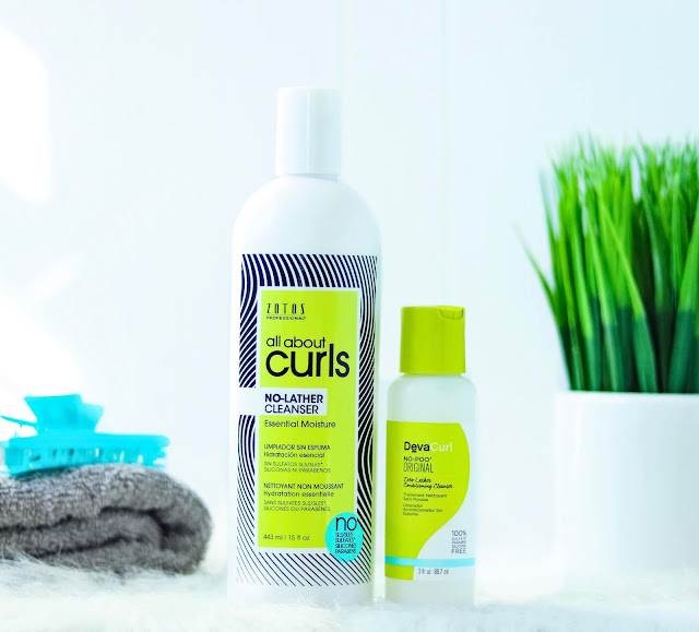 DevaCurl Dupe? Review: Zotos Professional All About Curls (at Sally Beauty) Part 1