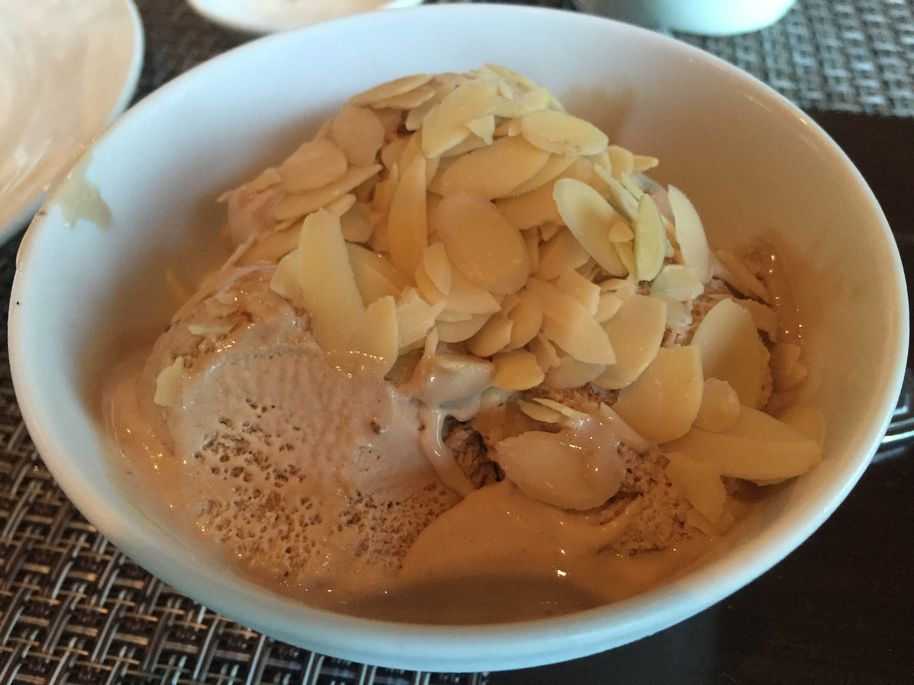 Ice cream at Seven Corners Restaurant