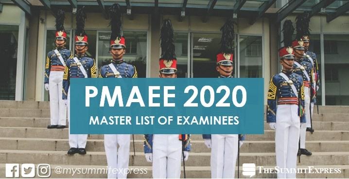 PMA releases master list of PMAEE 2020 examinees