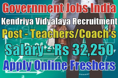 Kendriya Vidyalaya Recruitment 2019