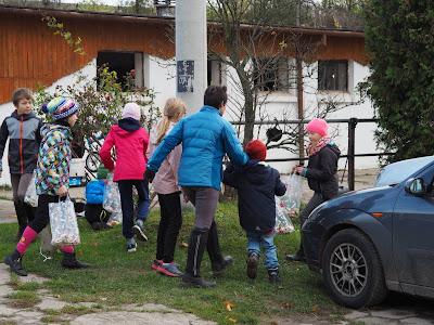 Hubertus 2016, hubertus w Węgrzcach, konkurs dla dzieci, szukanie cukierków, najważniejszy konkurs, zabawa dla dzieci