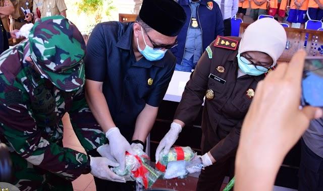 Ketua DPRD Kab.Bengkalis  Hadiri Pemusnahan Barang Bukti Narkotika di Mapolres Bengkalis
