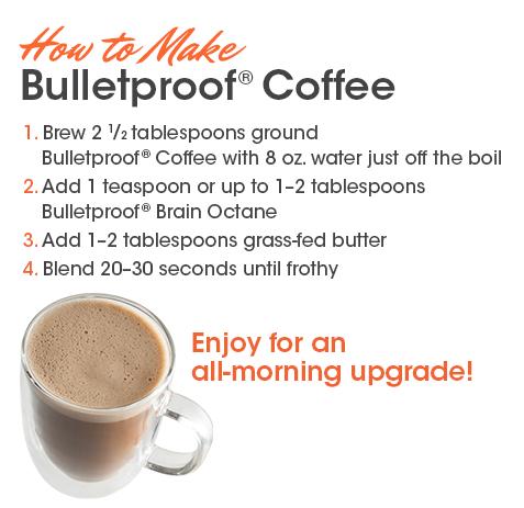 como preparar bulletproof coffee