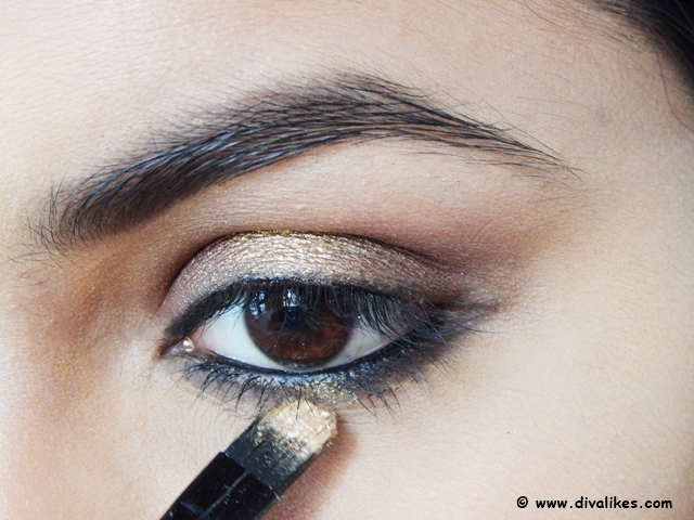 Gold Pigment For Eyes