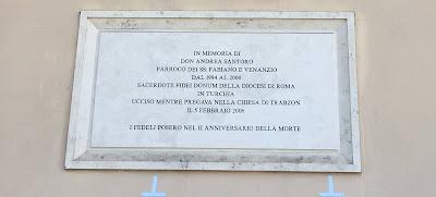 Don Andrea Santoro Targa