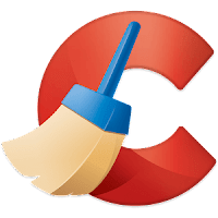 CCleaner logo for Windows 10