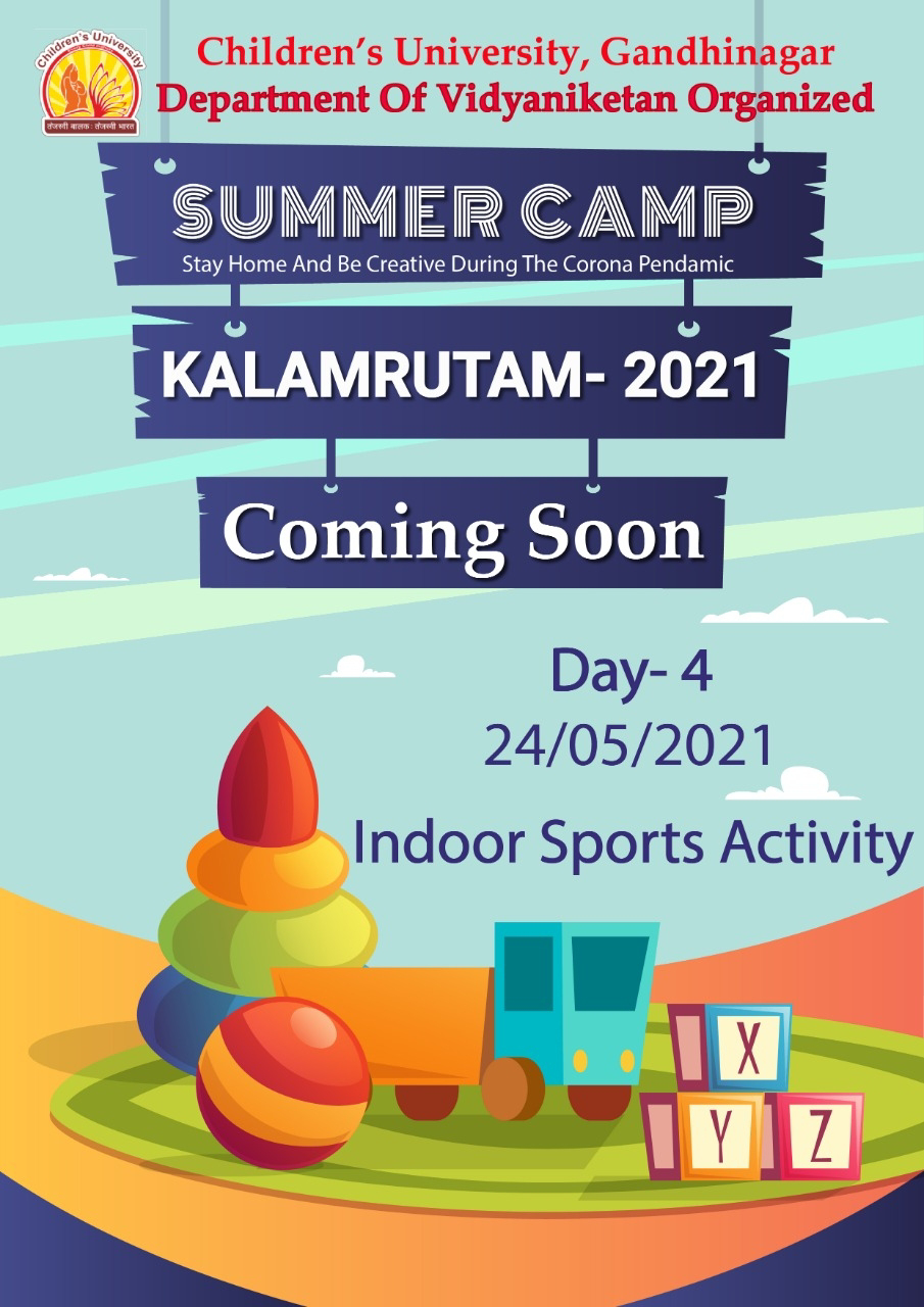 Kids University summer camp in your own mobile