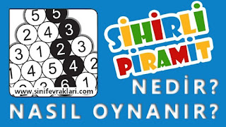 SİHİRLİ PİRAMİT