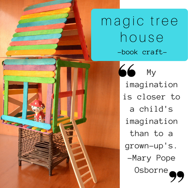 Practical mom magic tree house practical mondays 48 for How to build a treehouse with sticks