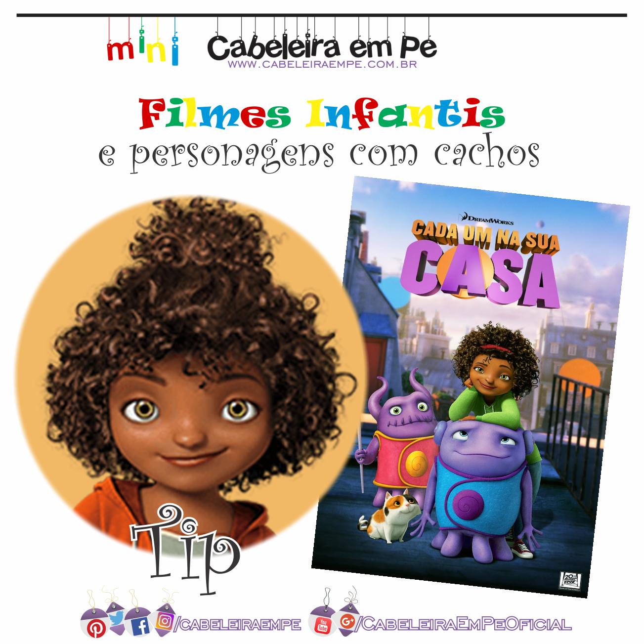Filmes E Programas Infantis Com Personagens Cacheados Cabeleira