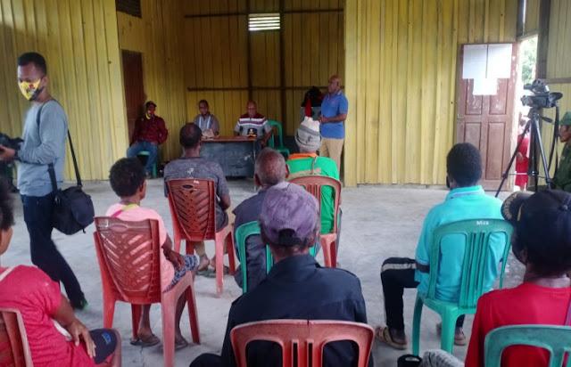 Paskalis Netep Laksanakan Kunjungan Kerja ke Manggelum, Kawagit dan Kouh