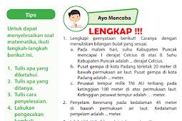Kunci Jawaban Halaman 10, 11, 12,Buku Senang Belajar Matematika Kelas 6