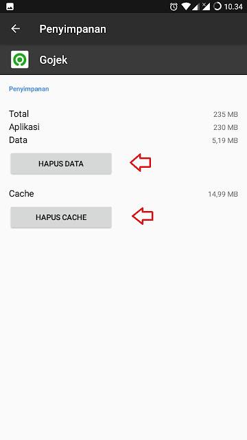 Cara Menampilkan Icon Aplikasi Android yang Hilang - Hapus data dan Cache