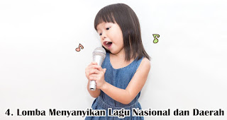 Lomba Menyanyikan Lagu Nasional dan Daerah merupakan salah satu ide lomba 17an seru dan edukatif untuk anak