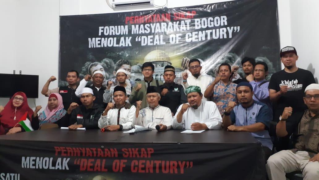 Dukung Palestina Merdeka, Forum Masyarakat Bogor: Tolak Agenda Jahat AS-Zionis!