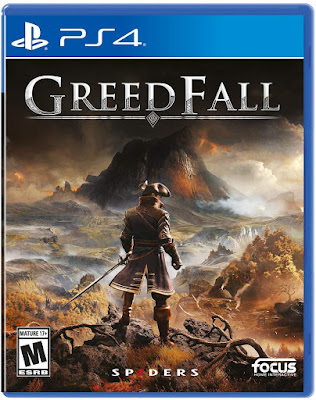 Greedfall Game Cover Ps4