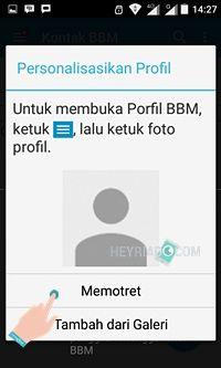 Cara Mendaftar BBM Android