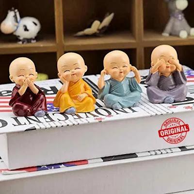 Small Buddha Monk Statues