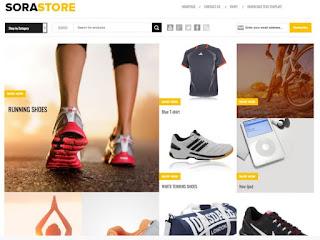 Sora Store Blogger Theme