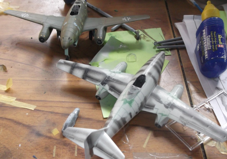 Falkeeins My Modelling Blog Revell And Academy Me 262