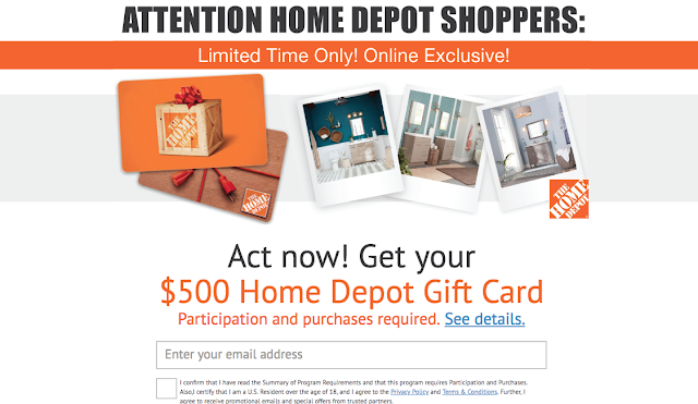 Home Depot Gift Card - SOI (US)