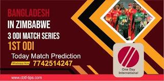 Zimbabwe vs Bangladesh 2nd Bangladesh Series With Zimbabwe ODI Match 100% Sure Match Prediction