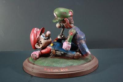 ZOMBIE SHOTS: Mario Hunter Vs. Luigi Zombie