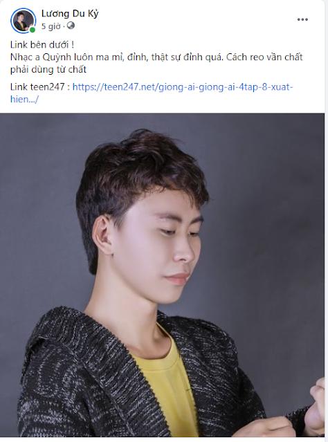 """Dukytnt Lee """" Tôi bị say đắm với cách gieo vần ma mị của  Phan Mạnh Quỳnh """""""