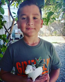 Aaron Moreno of Aaron's Garden (photo courtesy of Instagram @aaronsgarden)