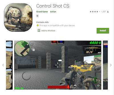 game control shot android
