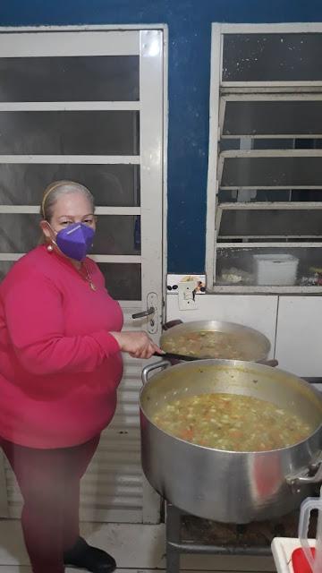Pinhais pede ajuda - O Trabalho continua , vamos ajudar a associação Jerivá a continuar com o Sopão solidário nesta semana