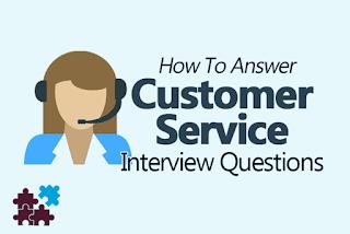اسئلة انترفيو خدمة العملاء واجابتها