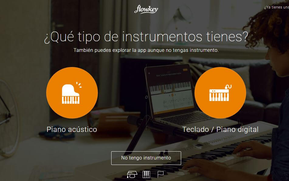 como funciona flowkey en español