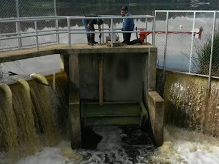 Lago Sochagota llegó a su máximo nivel, se abrirán las compuertas