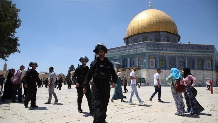 47 Pemukim Yahudi Serbu Masuk Masjidil Aqsha