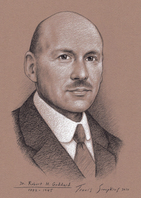 Dr. Robert H. Goddard. Engineer and Physicist. First Liquid-Fueled Rocket. by Travis Simpkins