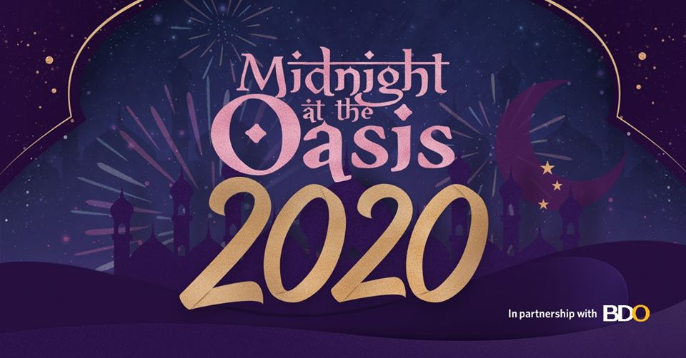 Midnight at the Oasis 2020: New Year's Eve Countdown Party