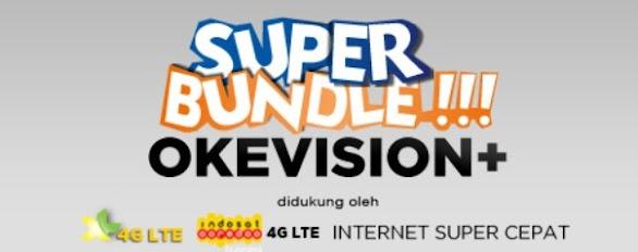 Okevision Internet Wifi 4G Lte Super Cepat
