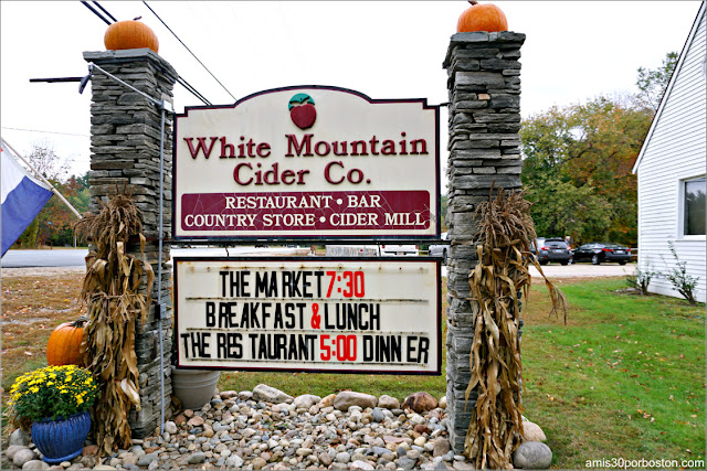 White Mountain Cider Co. en Glen, New Hampshire