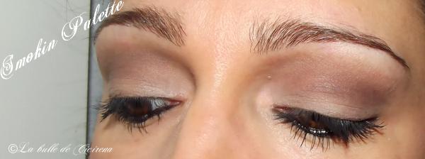 Makeup avec la SMOKIN PALETTE MUA