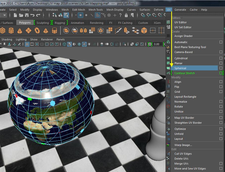 UV Mapping for maya2016 P1 / Maya 2016 UV貼圖P1 - MGBoom